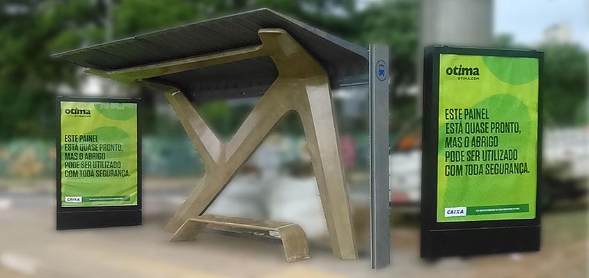 Fabricante de ponto de onibus ou abrigo de onibus com publicidade ... 3aeed21d49f5